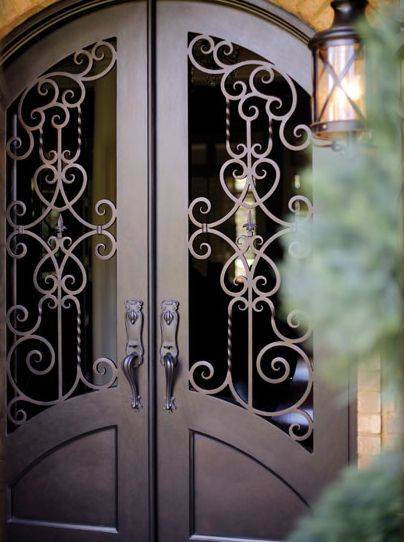Wrought Iron Entry Doors Iron Doors Wrought Iron Doors Iron