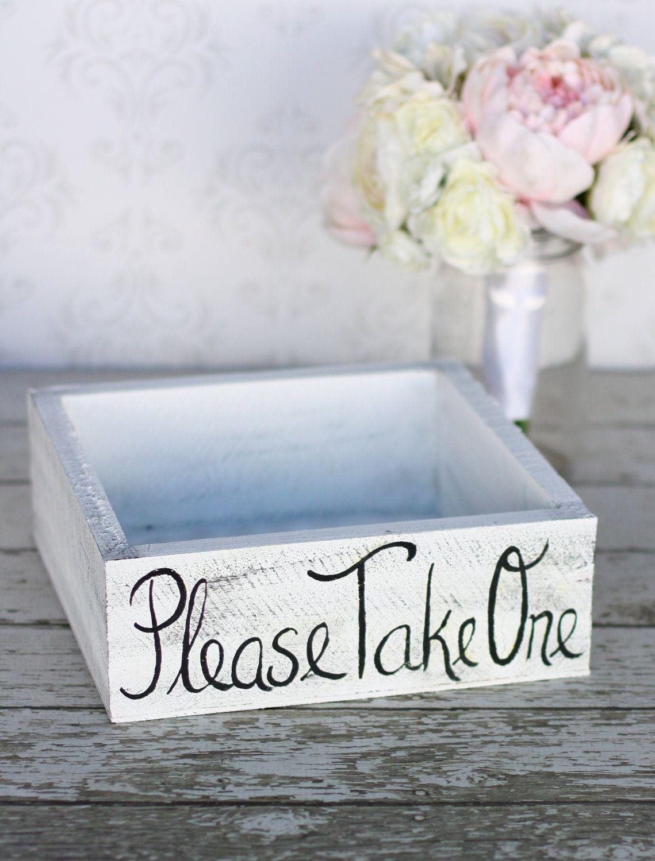 Shabby Chic Wedding Favors | Rustic Shabby Chic Wedding Favors Box ...