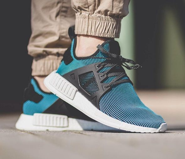 new product aed57 9a103 Zapatillas Adidas Originals NMD XR1 PK para chico color azul celeste s32212