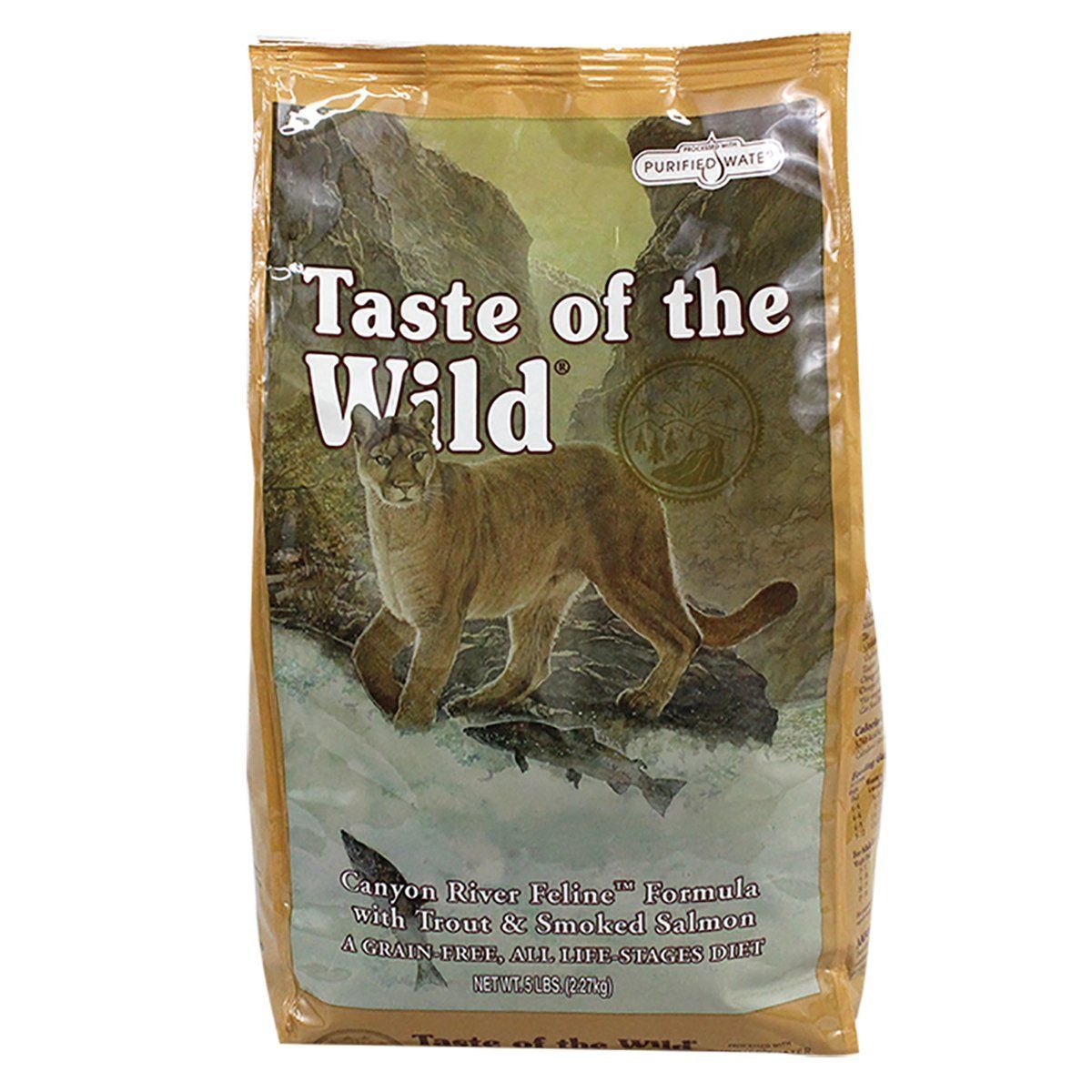 Taste Of The Wild Canyon River Feline 5 Lbs Click On The