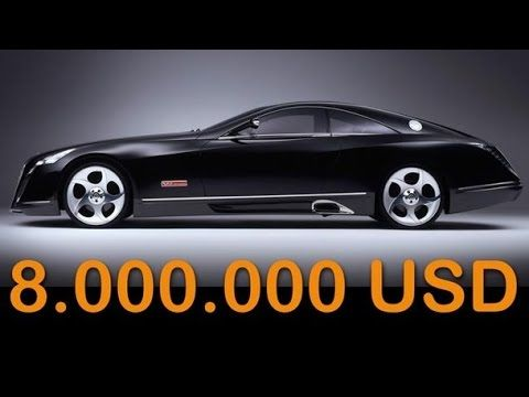 expensive cars with price. maybach exelero price - 8.000.000$ the most expensive car https:/ cars with