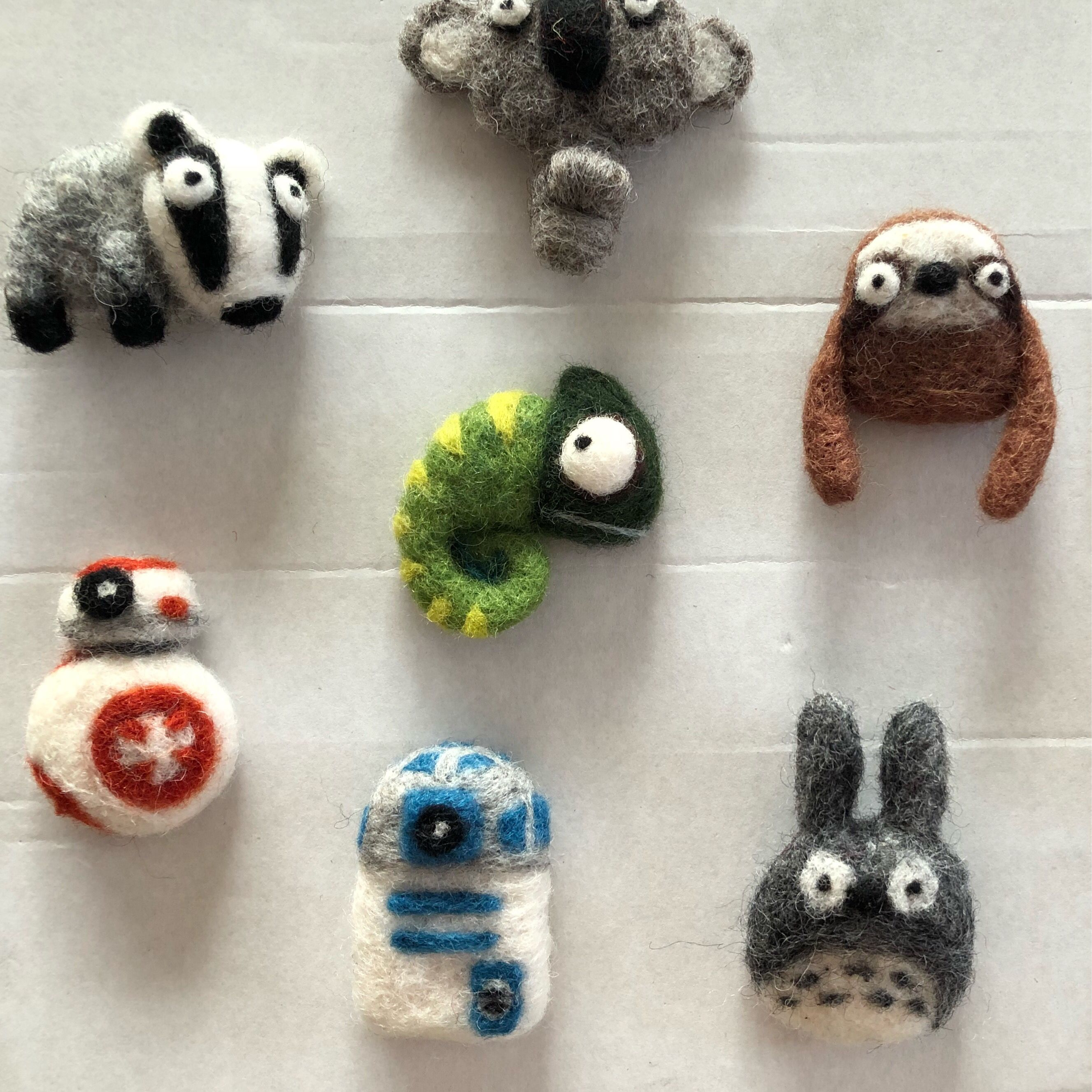 Needle felting pin of pins by Woolbuddy