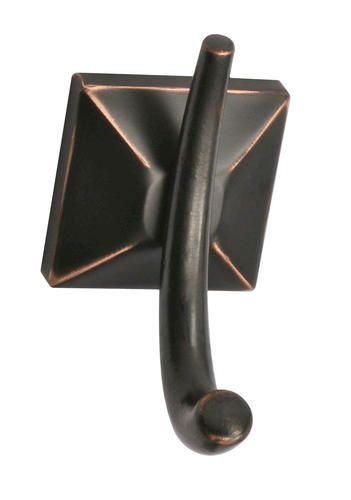 Tuscany Everett Double Robe Hook Oil Rubbed Bronze At Menards