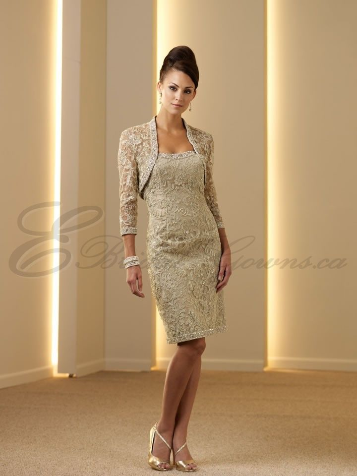 Mother of the Bride Knee Length Dress