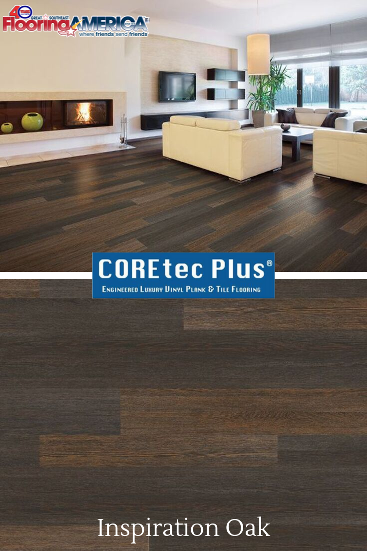 Inspiration Oak By Coretec Floors Find This Stunning Flooring At Great Southeast Flooring America Visit Ou With Images Flooring High Traffic Flooring Flooring Inspiration