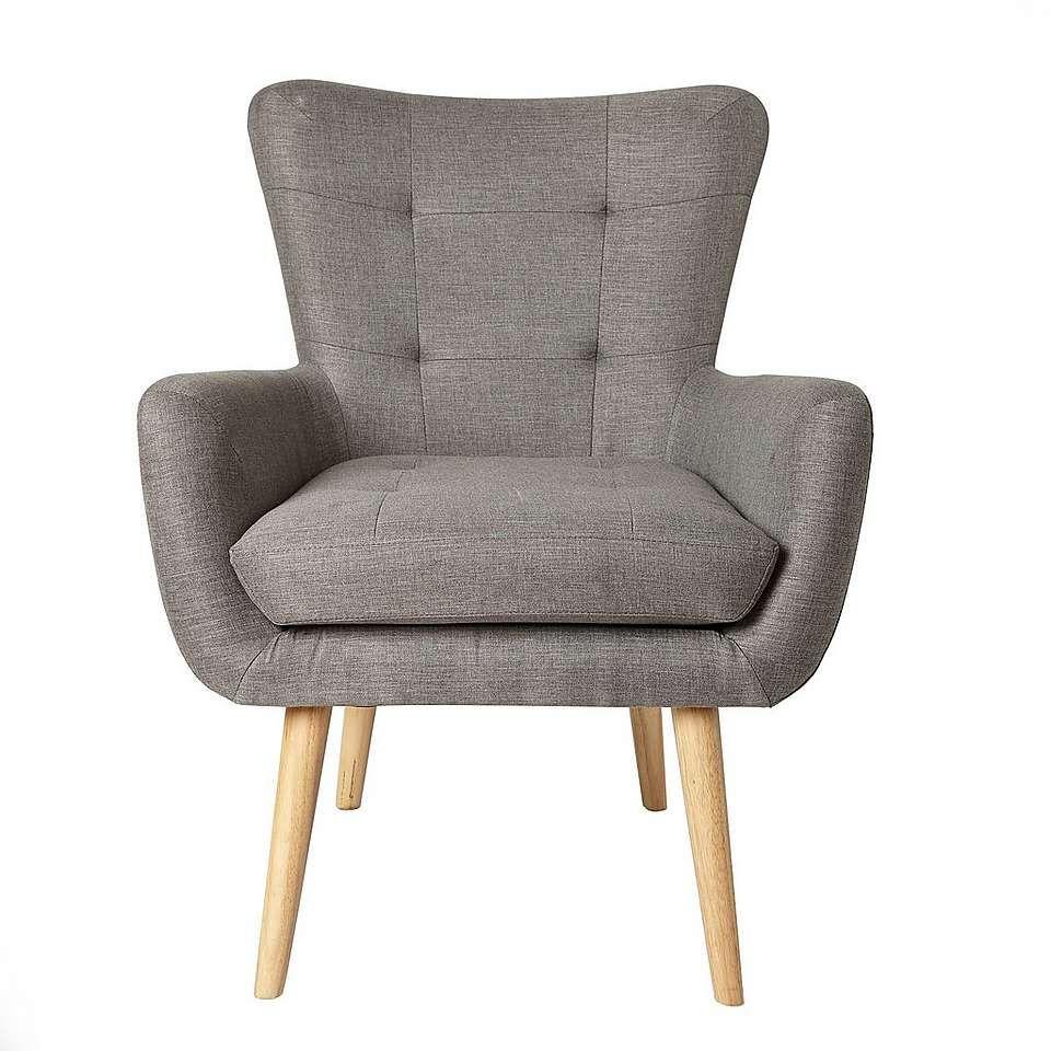Alva Chair Grey Sofa In 2019 Grey Chair Grey Armchair Grey