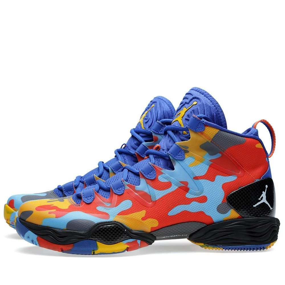1504df491bcdaa Nike Air Jordan 28 XX8 SE Westbrook PE OKC Camo Size 10. 616345-450 1 2 3 4  5 6