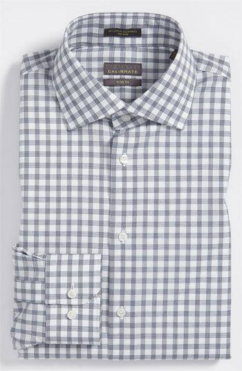 ouxiuli Mens Basic Slim Fit Casual Short Sleeve Plaid Checkered Dress Shirts