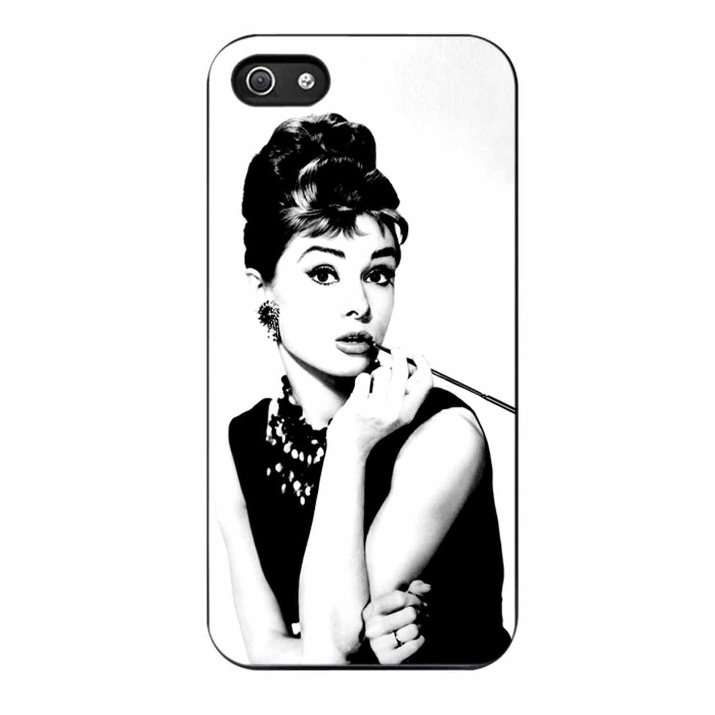 Audrey Hepburn iPhone 5/5s Case Audrey hepburn print