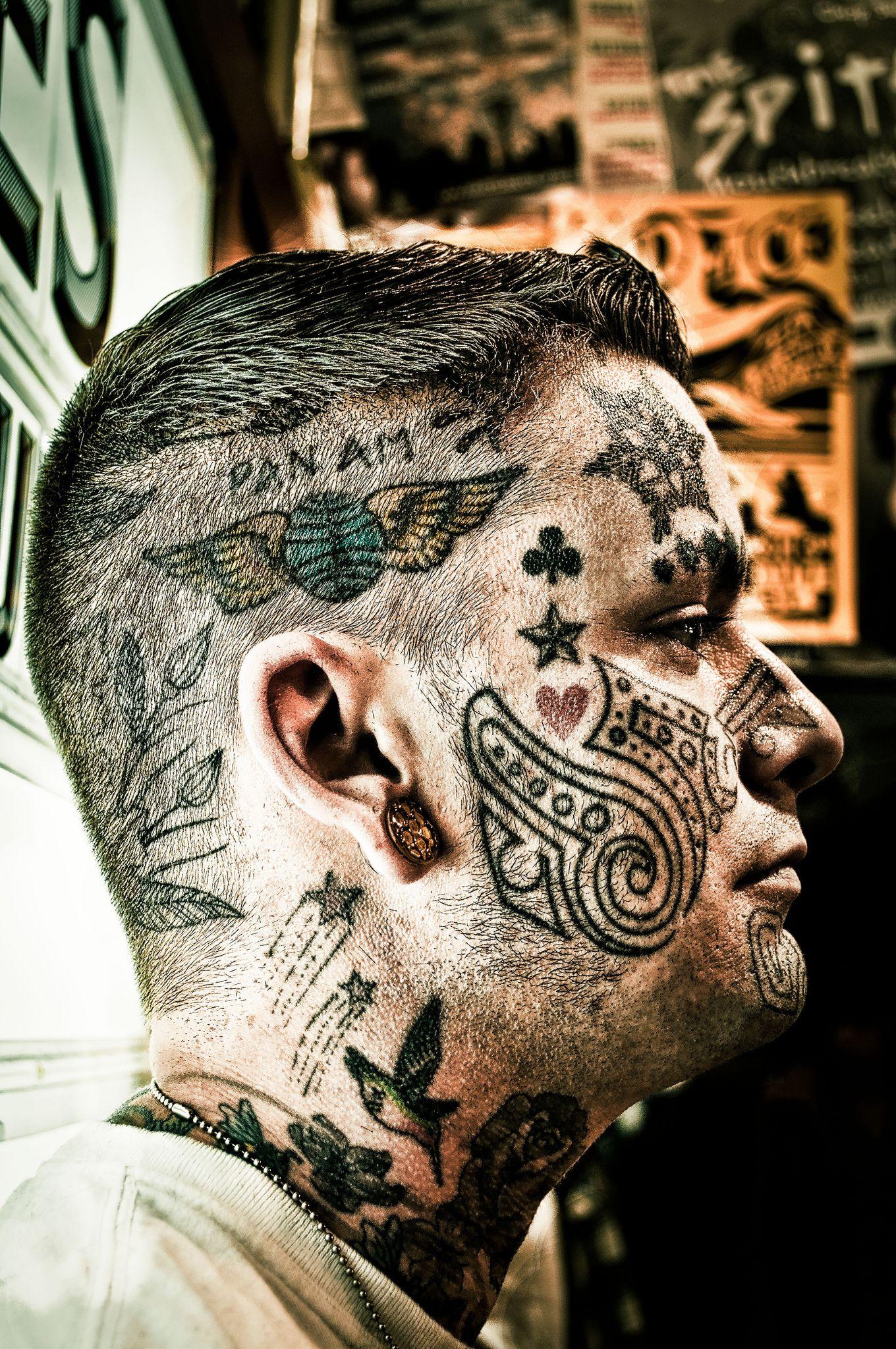 395d6e5ce 20 Awesome Face Tattoo Designs | Tattoo Inspiration | Tattoo designs ...