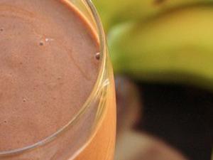 ChocoBanana Smoothies. #chocolatesmoothie #bananasmoothie