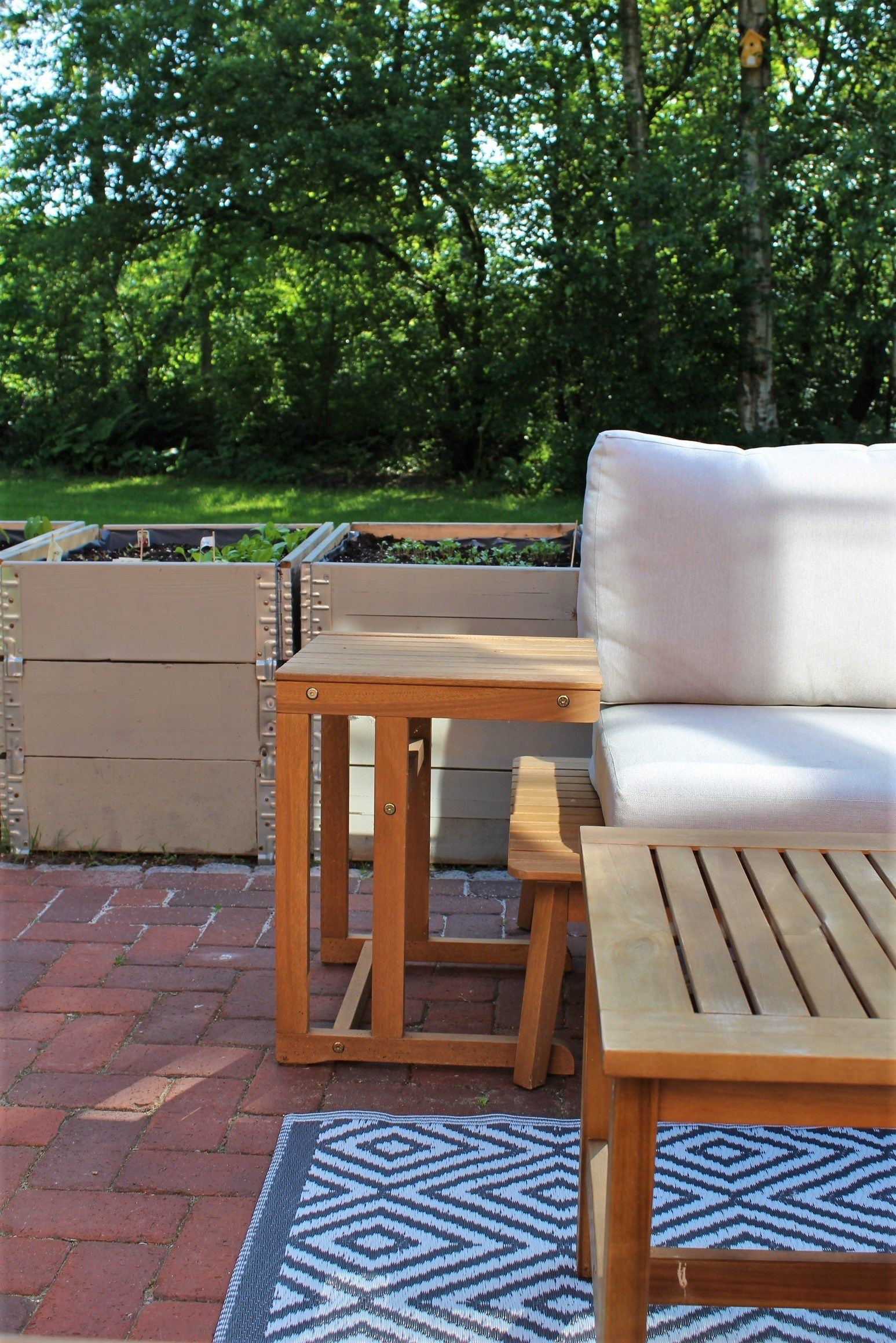 Diy Palettenrahmen Hochbeet Gartenstuhle