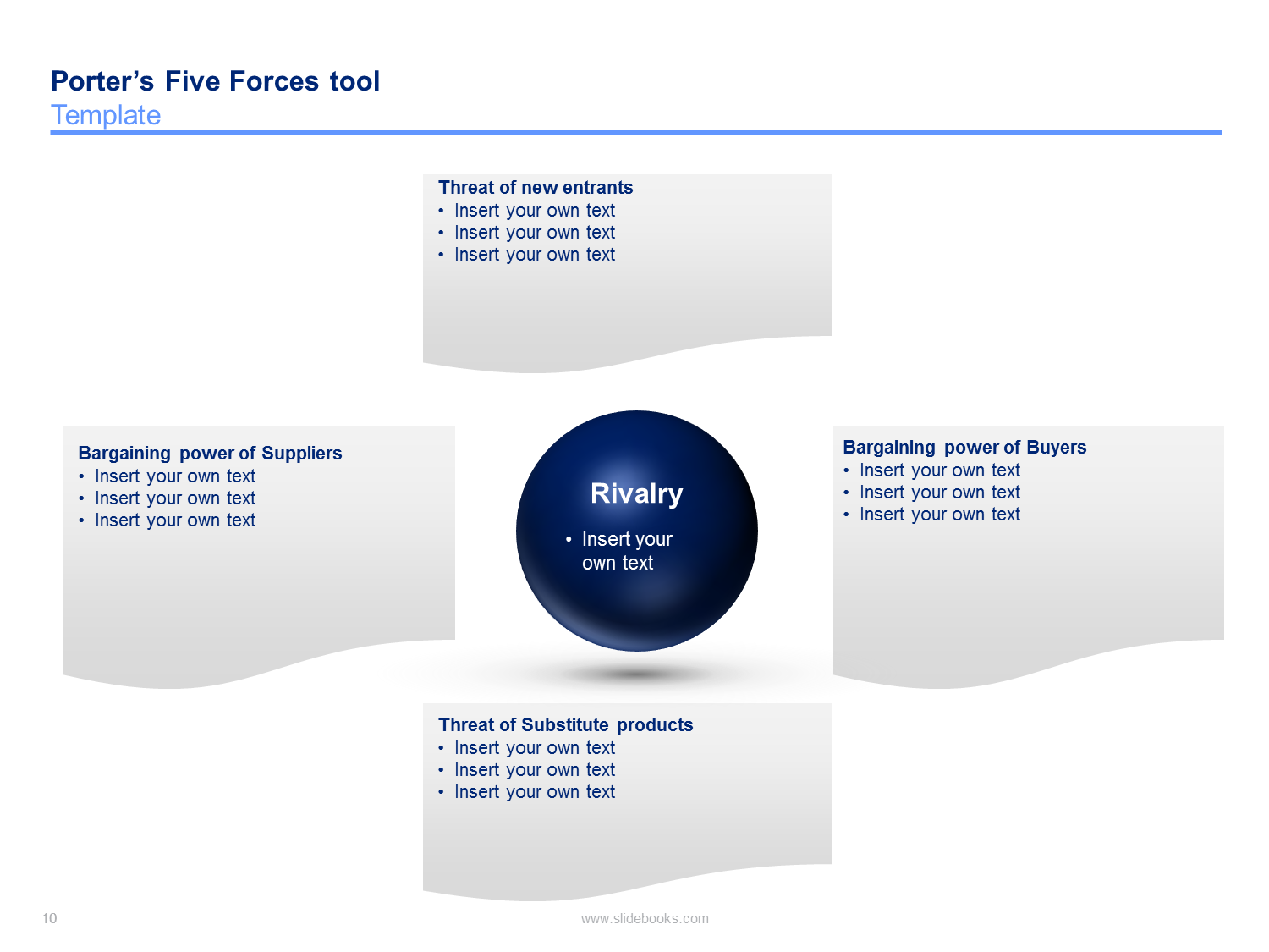 porter's five forces templates | students, Powerpoint templates