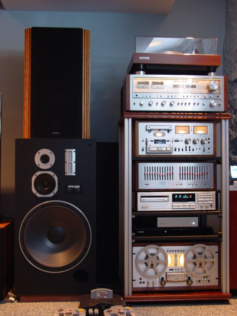 new stereo rack system - Google Search | Vintage Home Stereo