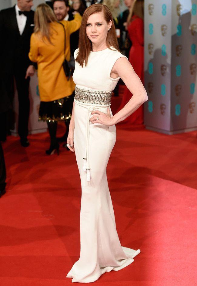 Amy Adams in Lanvin #BAFTAS2015