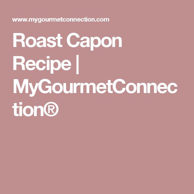 Photo of Roast Capon