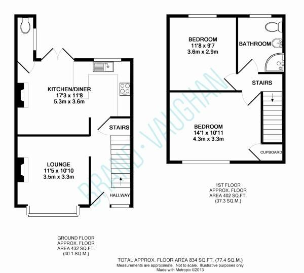 2 Up 2 Down Floor Plan - Google Search