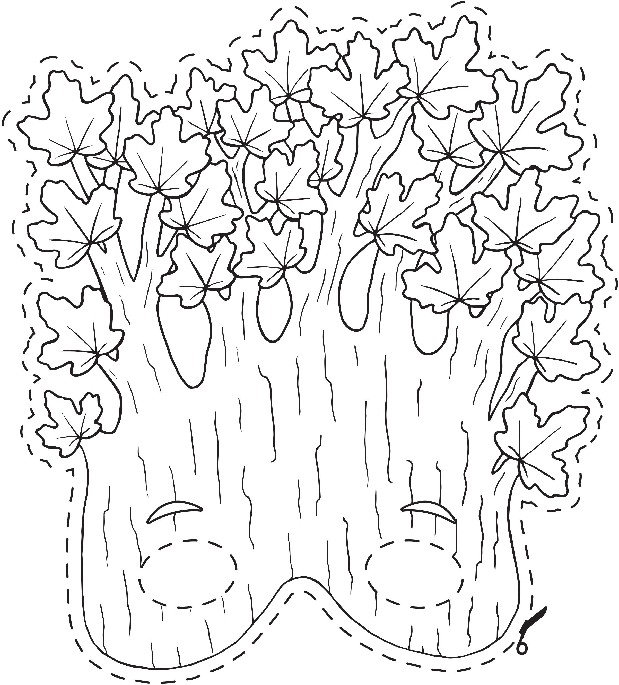 Download a fun tree mask! | Kids | Pinterest | Masking, Classroom ...