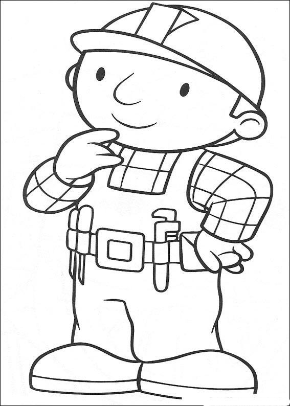 bob the builder printables | bob the builder coloring pages 1 next ...