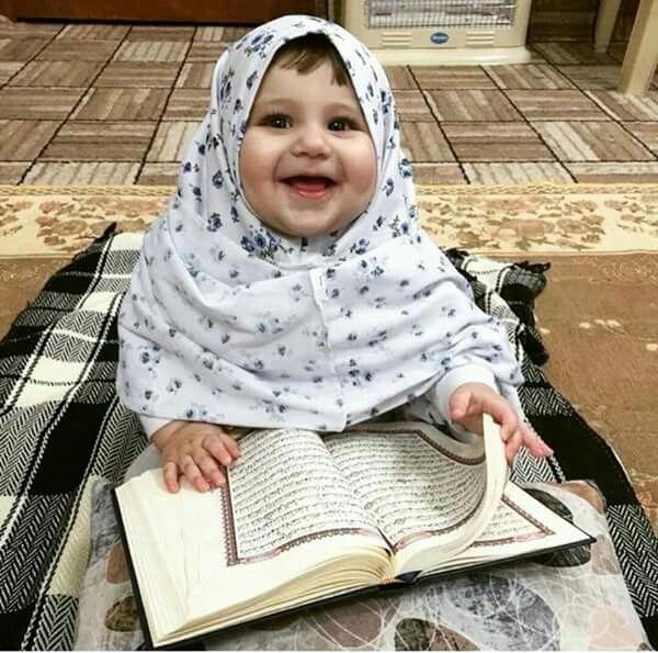 DesertRose...Cute Baby Reading QURAN