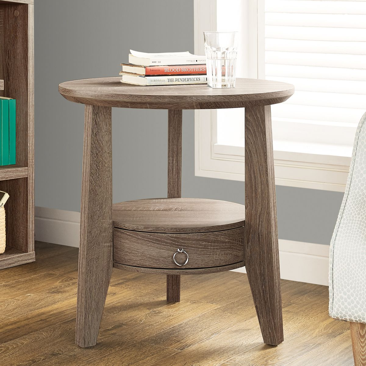 Best Seller Curved Accent Console Table Decor Storage: Woody Accent Table #table #reclaimed #snack #furniture