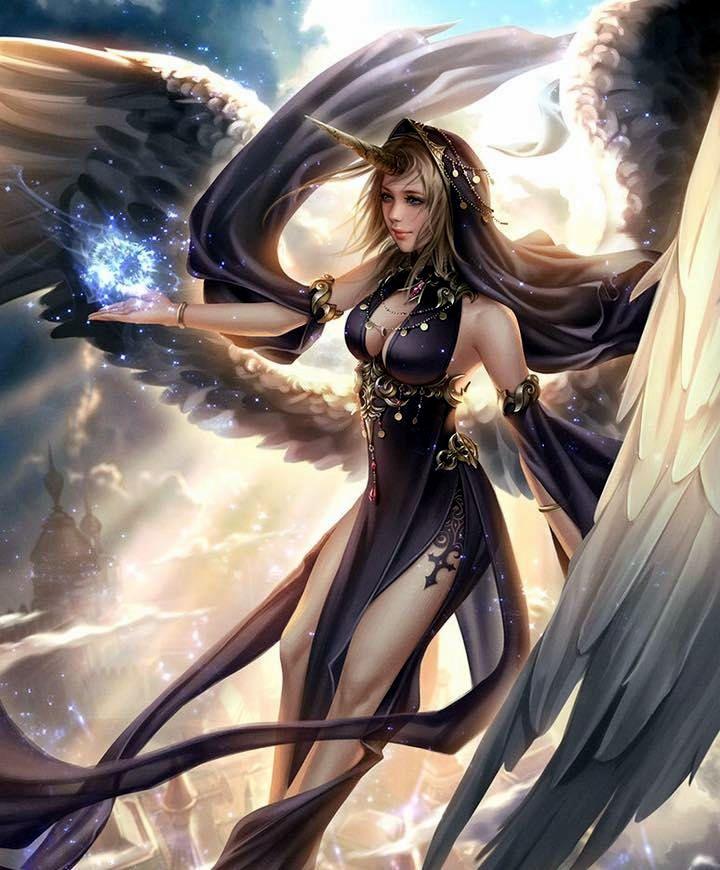 Женщины ангелы демоны картинки