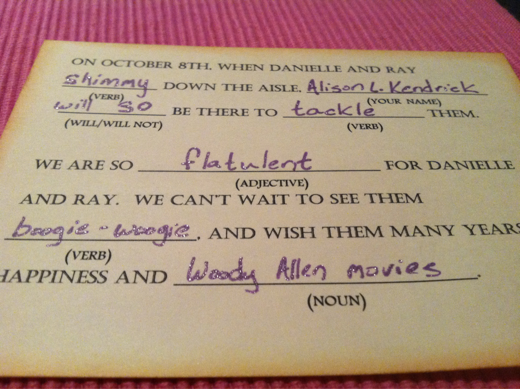 Best Rsvp Card Ever Could You Imagine The Replies Would Get From Your Friends