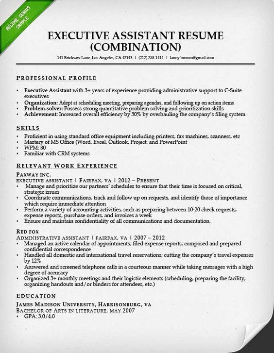 Pin By Topresume1 On RESUME FORMAT Pinterest Sample Resume