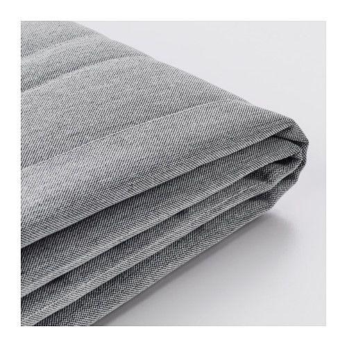 Ikea Beddinge Cover For Sleeper Sofa Knisa Light Gray The