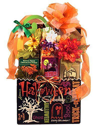 Halloween Spooky Basket.Halloween Gift Basket For Girlfriend From Boyfriend Happy