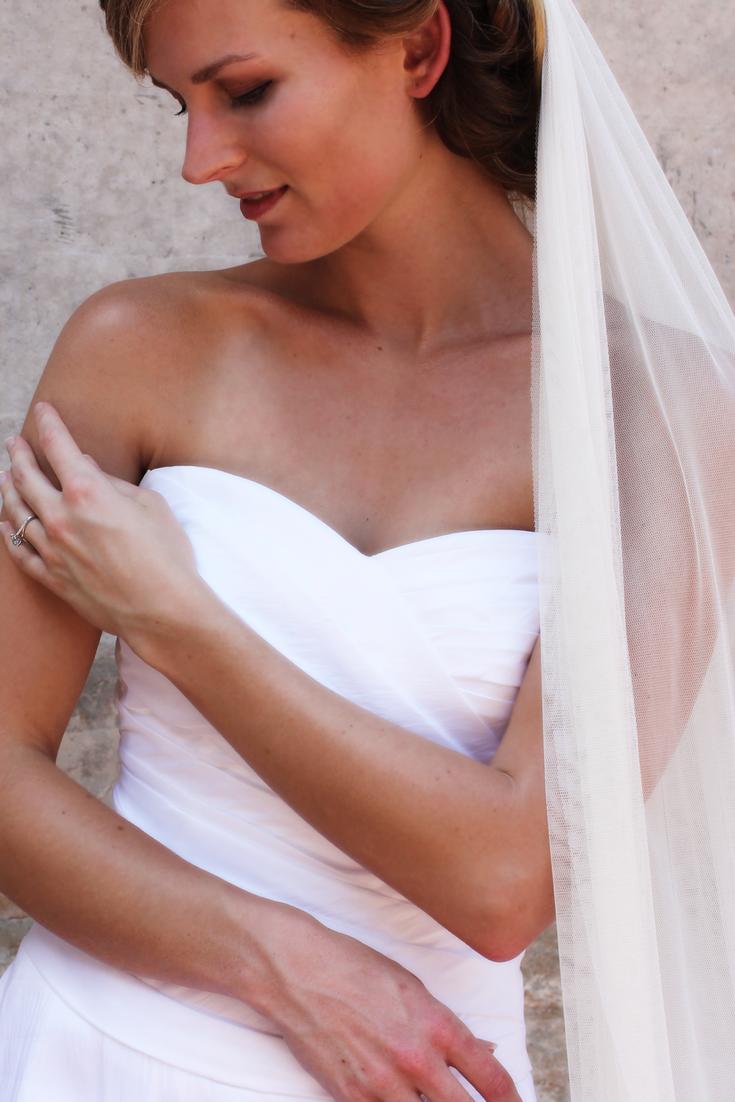 Belles wedding dress  Julia Belleus Veils  English net veils at a fraction of the cost