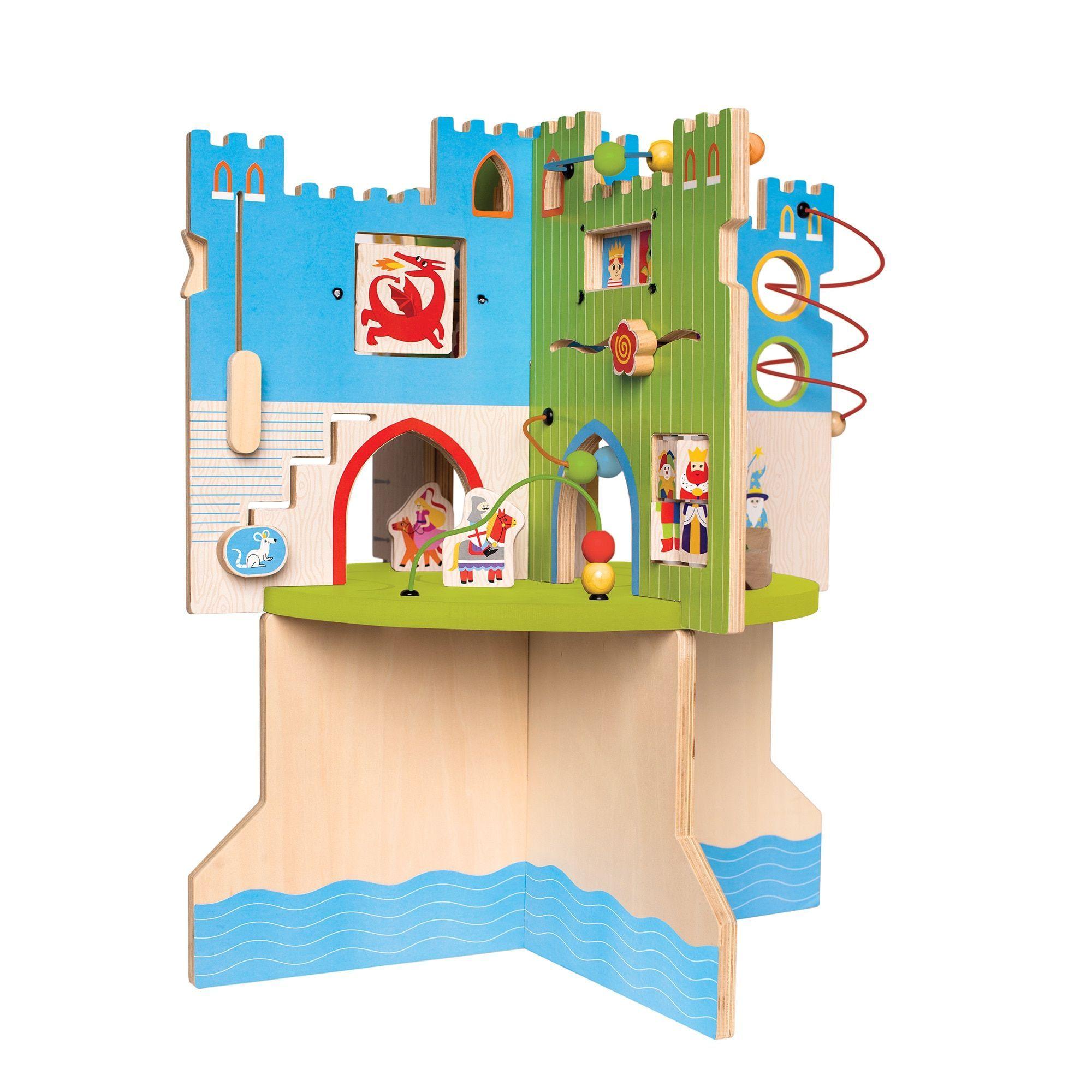 Manhattan Toy Kids Uni Storybook Castle colored en Toddler