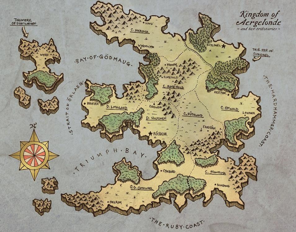 fantasy world map Google Search