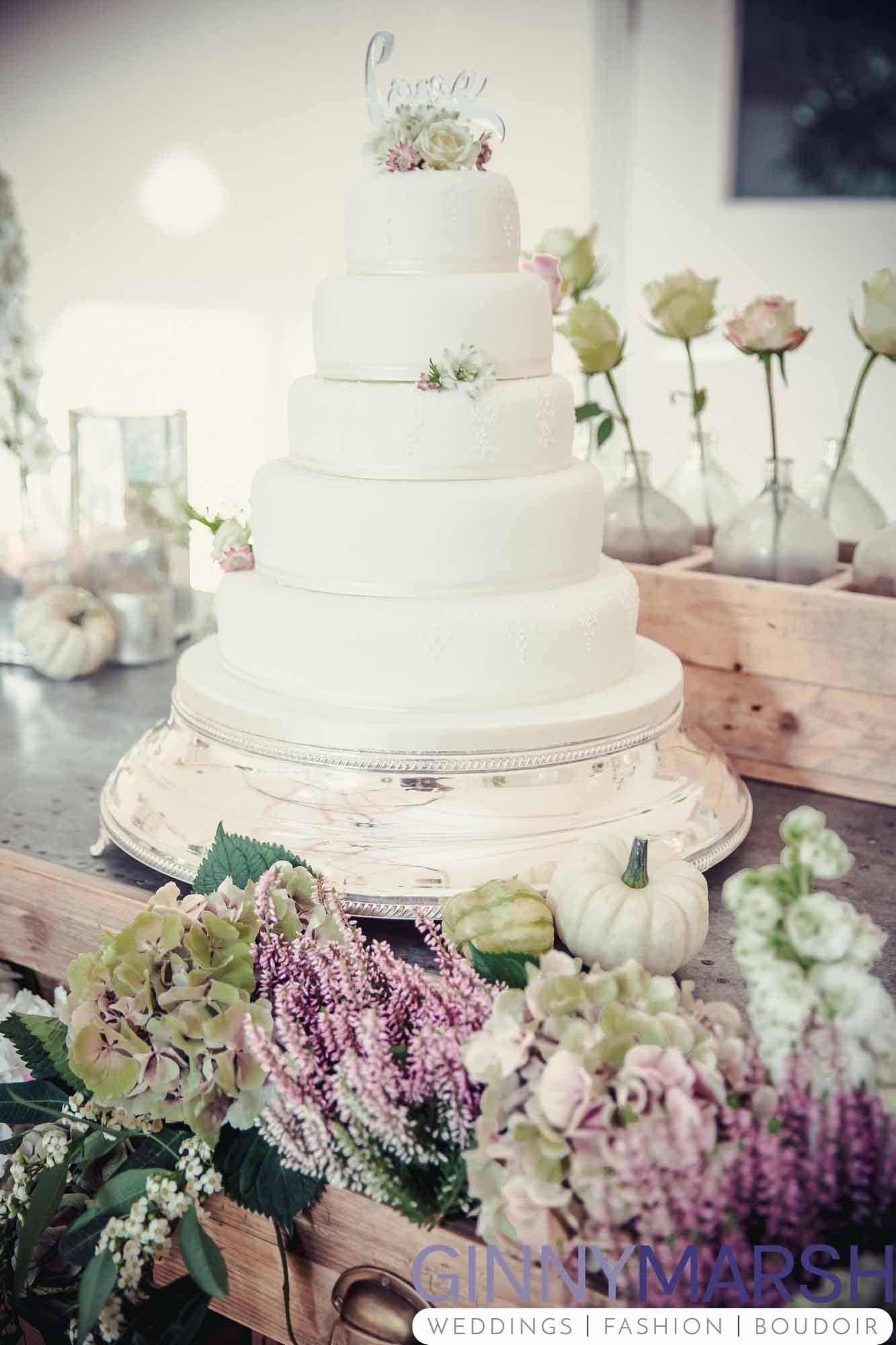 Stunning Wedding Cake, Summer Wedding, Millbridge Court, Surrey ...