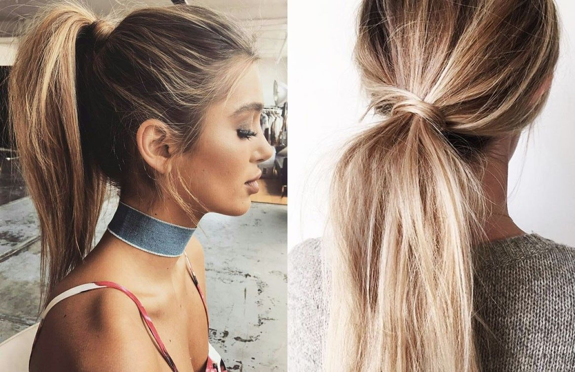 Easy Ponytail Hairstyles For Long Hair High Messy Easyhairstyles Ponytail Hairstyles Easy Ponytail Hairstyles Hair Styles