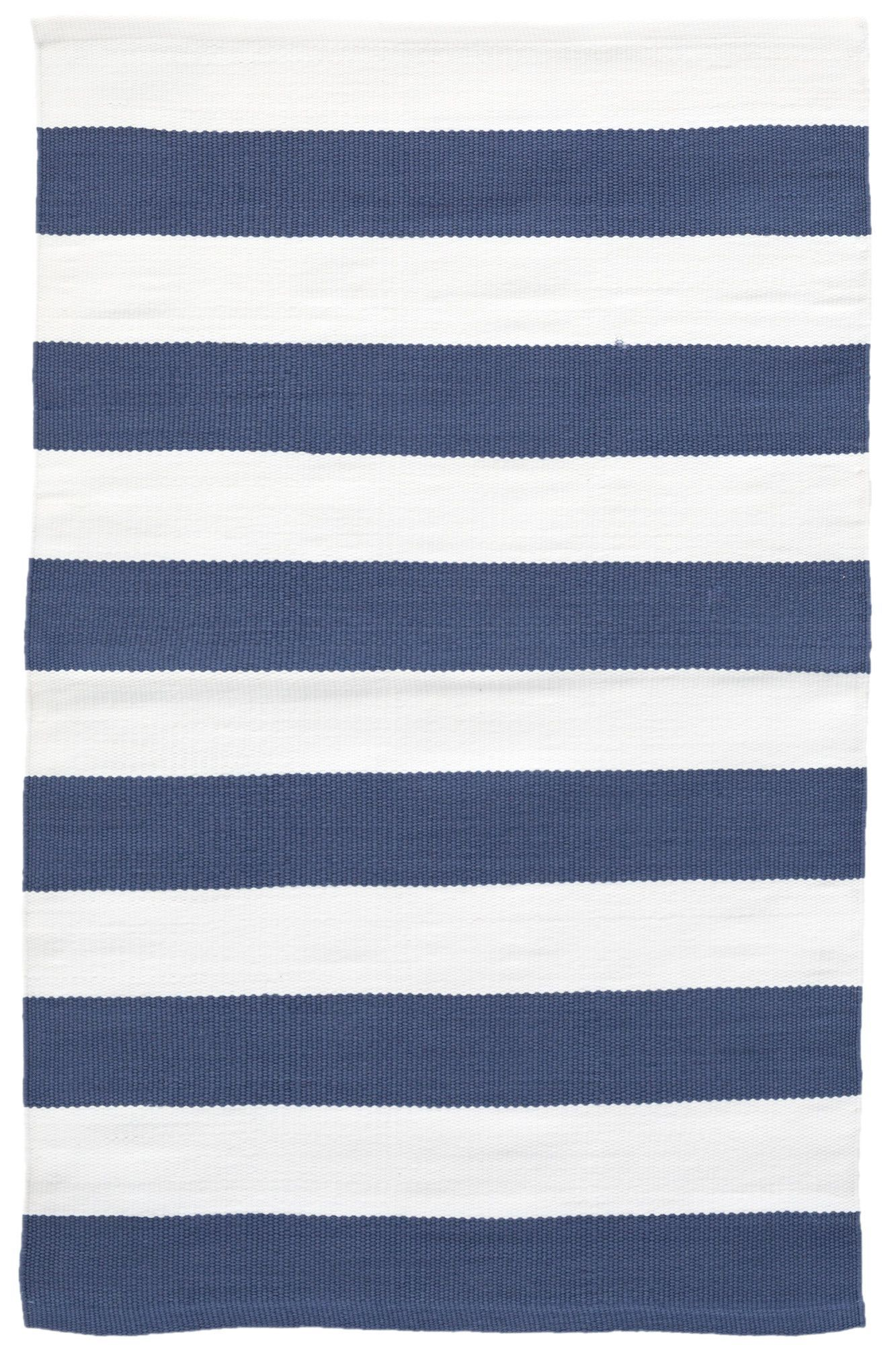 Catamaran Stripe Bluewhite Indooroutdoor Area Rug Pinterest