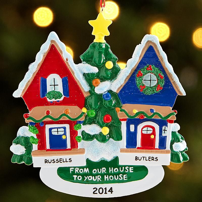 Our House To Yours Ornament Personal Creations catalog Pinterest