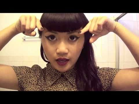 how to cut your own bangs video