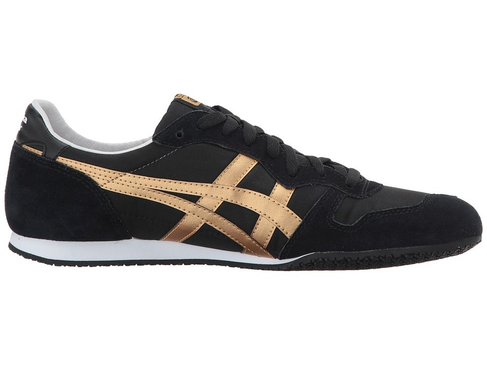 Onitsuka Tiger by Asics Serrano Shoes BlackGold | Sneakers