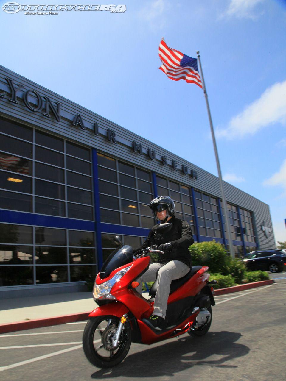 2013 Honda PCX150 First Ride Photos Motorcycle USA