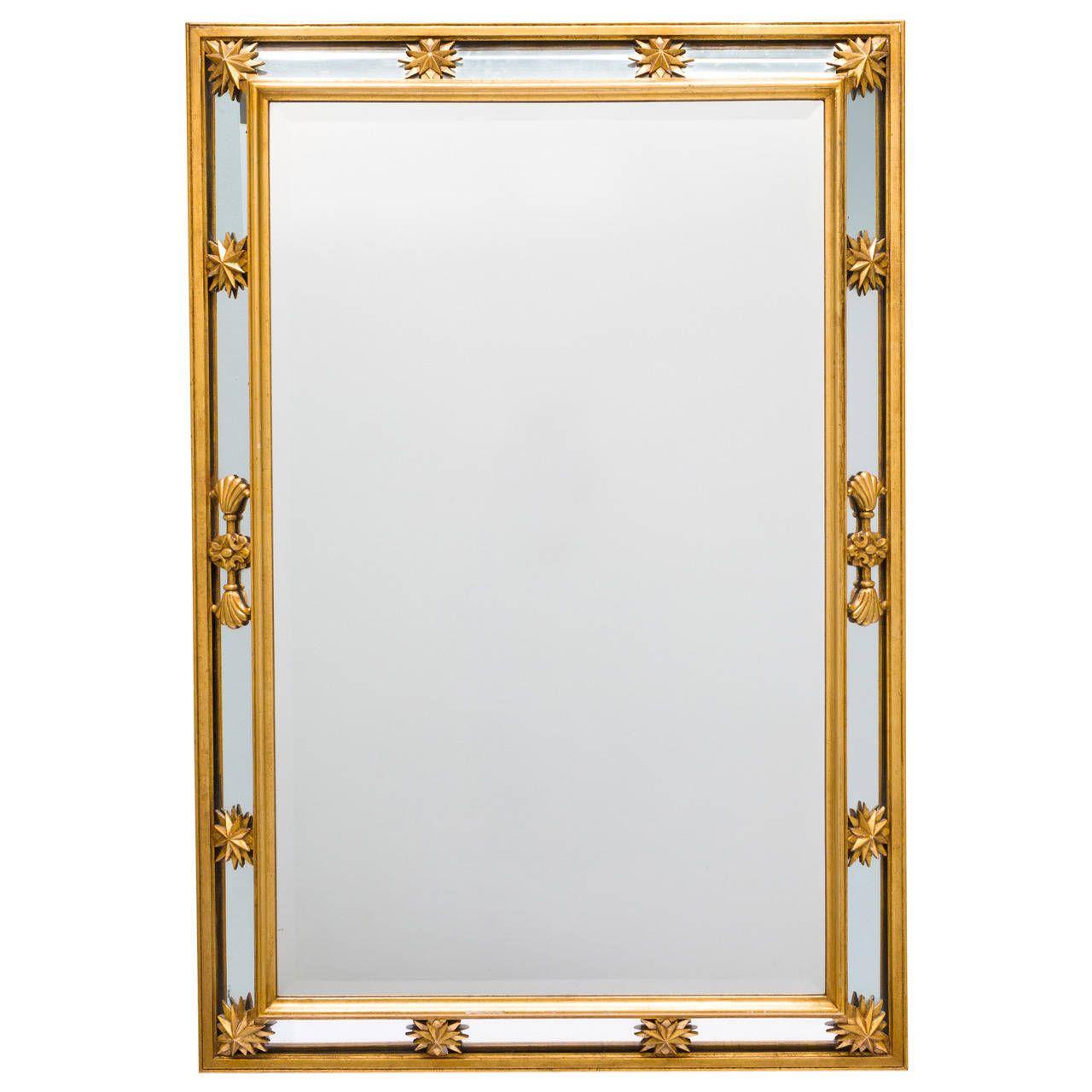 Neoclassical Style Star Mirror | Mirror, Modern mirror wall, Mirror decor