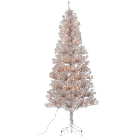 Party Occasions Diy Gold Christmas Tree Tinsel Christmas Tree