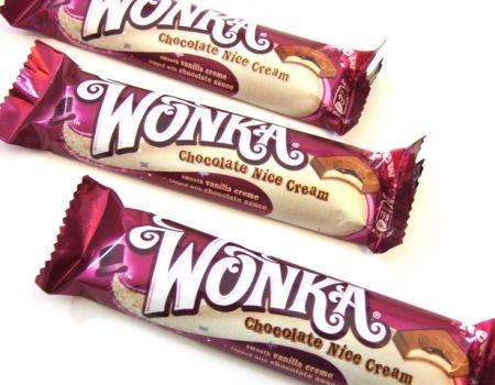 Wonka Chocolate Nice Cream And Wonka Millionaires