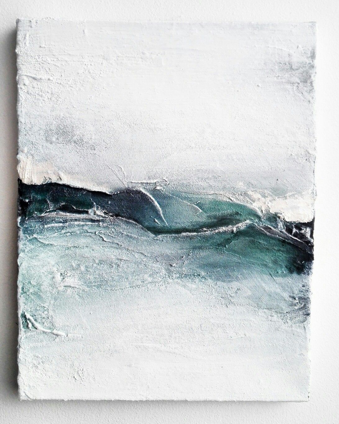Abstract Art Looks Like Ocean Waves Canvas Painting Diy Art Painting Modern Art Abstract