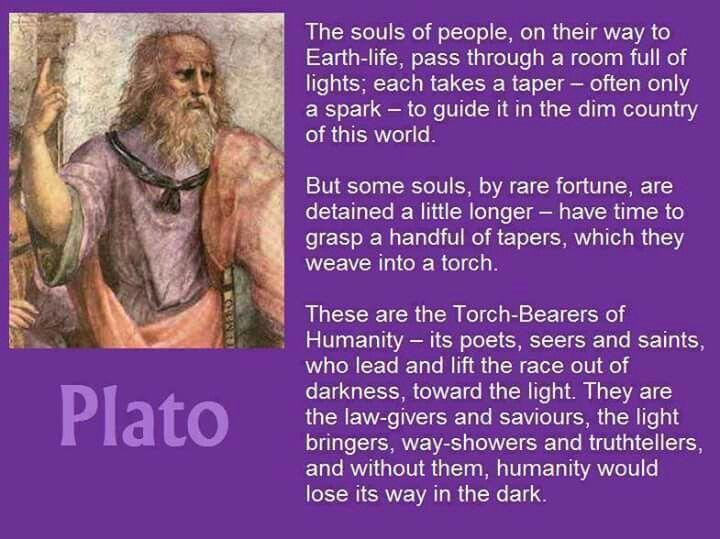 Light bearers #Plato   #Higher Ground    'I Am' that 'I Am