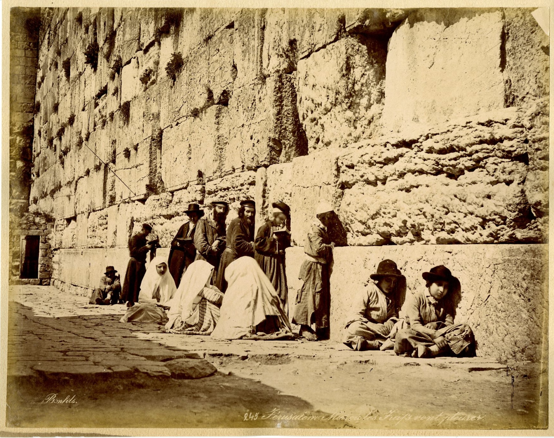 Détails sur Bonfils. Palestine, Jérusalem, Mur ou les juifs vont ...