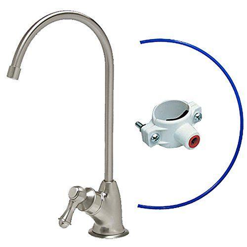 Air Gap Brushed Nickel Reverse Osmosis Ro Faucet Luxury European Style By Kleenwater Kleenwater Http Www Am Luxury European Style Kitchen Faucet Faucet