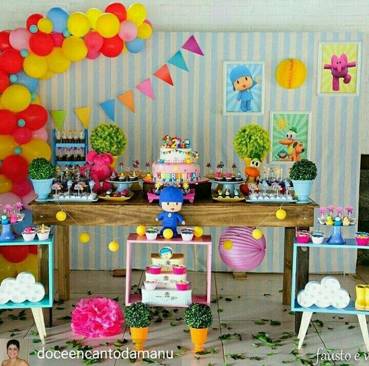 Pocoyo Com Imagens Festa Pocoyo Decoracao Festa Infantil