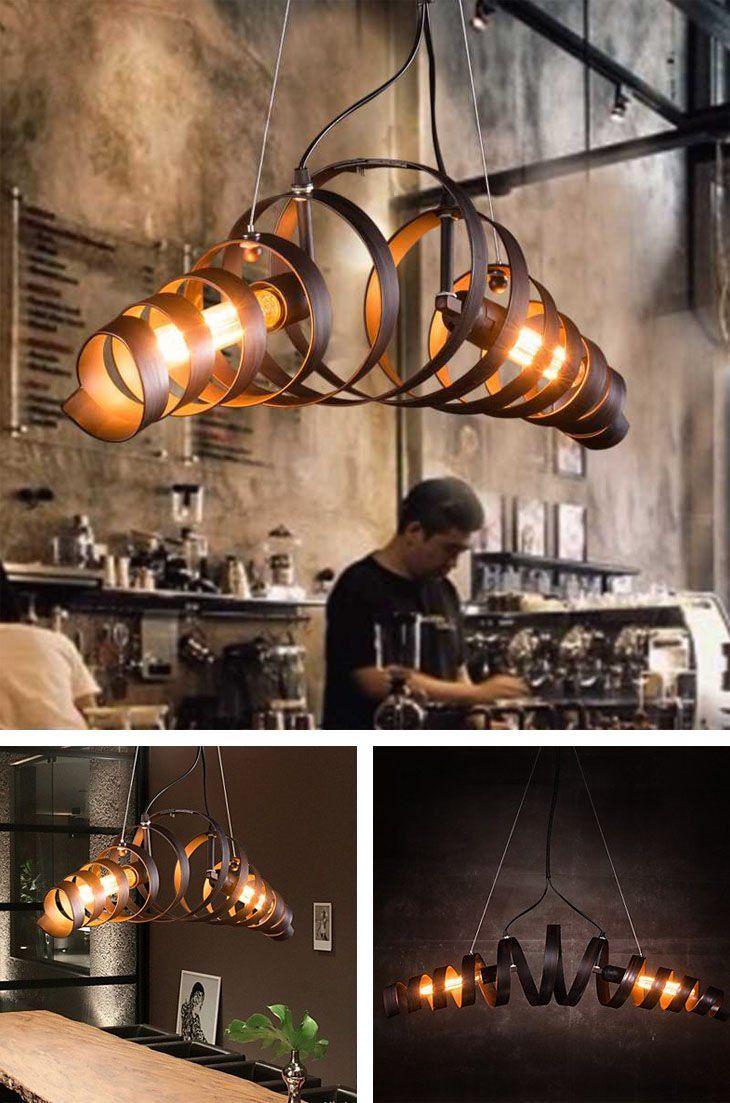 6 Present Fotos Von Wohnzimmer Lampe Stylisch  Industrial style