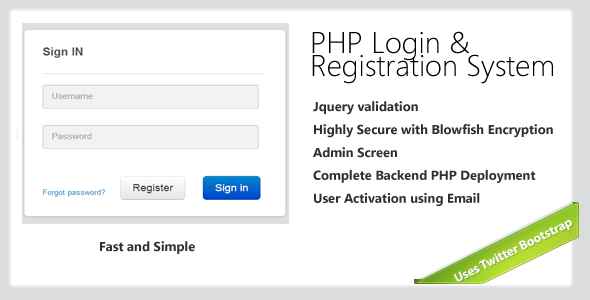 SecurePhpLogin  Registration System  Web